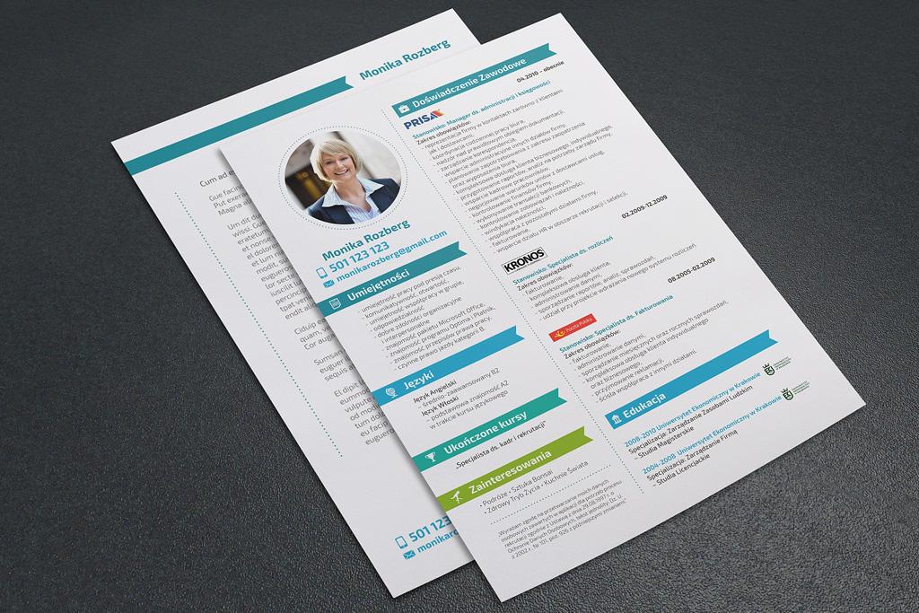 Projekt CV i LM – Monika
