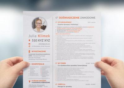 Projekt CV – Julia